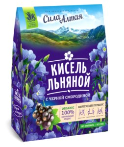 The Flax Kissel with Black Currants, Specialist, 5.3 oz / 150 g