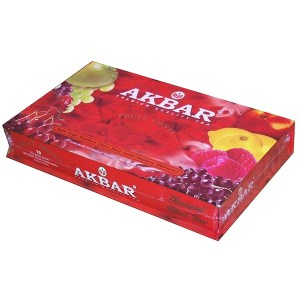 Akbar Tea Gift Set Fruit Fiesta, 80 tea bags