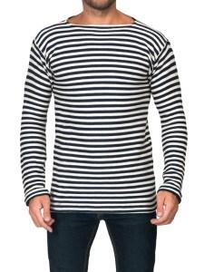 Winter Long Sleeve Russian Navy Telnyashka Shirt, size 52