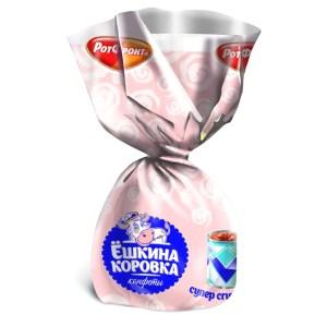 Chocolate Candy with Condensed Milk, Eshkina Korova, 0.5 lb / 220 g