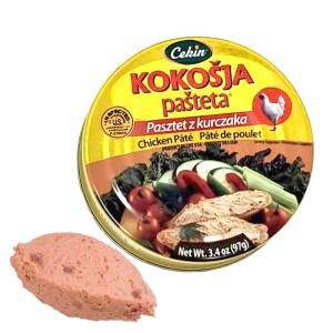 Kokosja Chicken Spread Pate, 0.21 lb/ 97 g