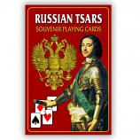 "Souvenir Playing Cards ""Russian Tsars"""