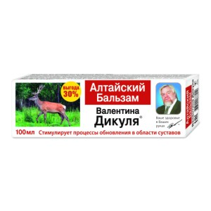 Altai Balm for Musculoskeletal System Health, Dikul, 100 ml / 3.38 oz