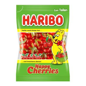Gummi Candy Haribo Happy Cherries, 0.44lb/ 200 g
