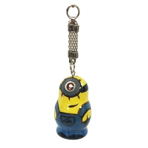 Despicable Me Minion Character Wooden Key Chain, 1.5