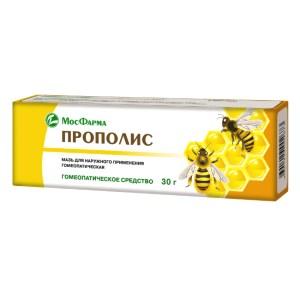 Propolis, Homeopathic Ointment, MosFarma, 30 g/ 0.066 lb