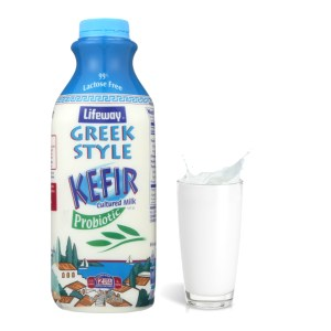 Kefir Greek Style Plain Whole Milk (LifeWay), 32 oz / 0.94 L