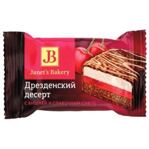 Dresden Dessert w/Cherry & Cream Souffle, Slavyanka, 226 gr / 0.5 lb
