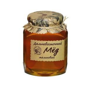 Far East Honey Raspberry 500g/1.1lbs Kedrovyi Bor