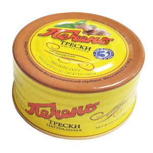 Cod Liver (Tin Can), 6.7 oz / 190 g