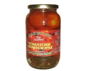 Pickled Tomatoes, Zakuson, 33.81 oz/ 1 liter