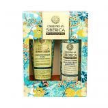 Oblepikha Siberica Professional Gift Set with Styling Gel and Repairing Shampoo, 2 x 13.52 oz (400 ml)