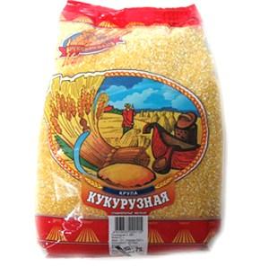 Russkoye Pole Corn Groats, 26.45 oz/ 750 g