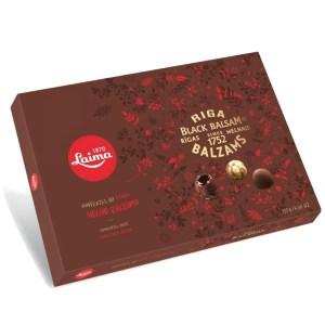 Chocolate Сandies w/ Riga Balsam Filling, LAIMA, 135 gr/ 0.3 lb