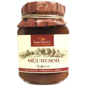 Natural Forest Honey, 17.63 oz / 500 g