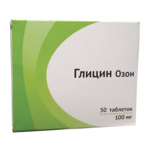 Glycine, 100 mg, 50 Tabs