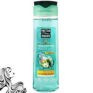 Micellar Shampoo 5 Herbs & Vitamins, Pure Line, 400ml/ 13.53 oz