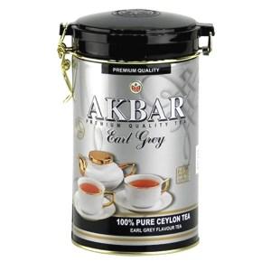 Akbar Tea Earl Grey in Tin Can, 15.87 oz / 450 g