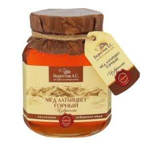 Mountain Altai Flower Honey, 17.56 oz / 500 g
