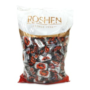 Roshen Gourmet Red Poppy Chocolate Candy, 2.2 lbs/ 1 kg