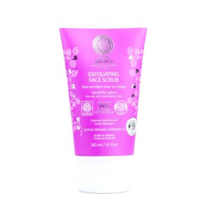 Exfoliating Facial Scrub for Oily and Combination Skin (NATURAL & ORGANIC), 5.1 oz/ 150 ml