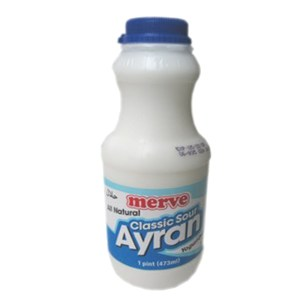 Classic Sour Yogurt Drink Ayran, 16.68 oz / 473 ml