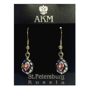 Russian Style Earrings Set
