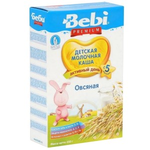 Milk Bebi Oatmeal Porridge, 8.81 oz / 250 g