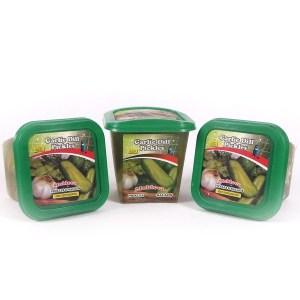Garlic Dill Pickles, 16 oz / 500 g (Moldova Pickles)
