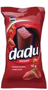 Dadu Strawberry Cheesecake Bar, 1.58 oz / 45 g