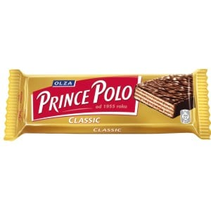 Chocolate Covered Waffles, Prince Polo Classic, 35g/ 0.077 lb