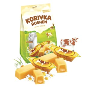 Fudge Korovka Milk Unglazed Candy, 7.23 oz/ 205 g
