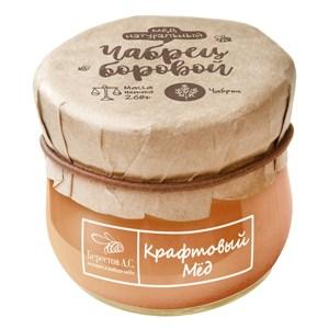 Сraft Honey Borovoi Thyme, Berestov, 260 g/ 0.57 lb