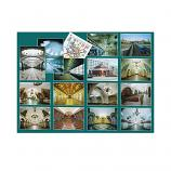 Moscow Metro Collection of Postcards, 16 cards