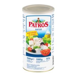 Cheese Patros Feta, 2.2 lbs / 1 kg