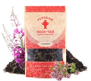 Ivan-Tea Fireweed Black Fermented Small-Leaf w/ Oregano, Doypack Zip Lock, 50 g/ 0.11 lb