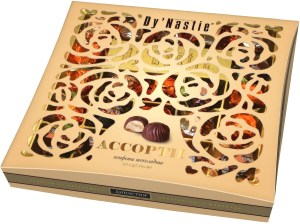 Assorted Chocolate Candies with Filling, Dy'Nastie, 0.46 lb/ 210g