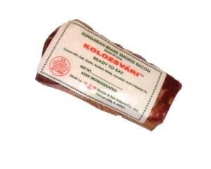 Hungarian Smoked Bacon Kolozvari, 1 lb -1.5 lb