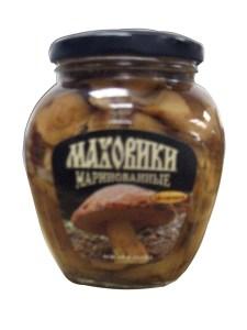 Marinated Slippery Jacks Mahoviki Mushrooms Uniservis, 15.52 oz/ 440 g