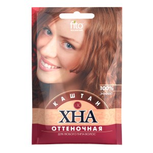 Henna Shade, Chestnut, Phytocosmetic, 25 g/ 0.055 lb