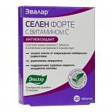 Selen Forte w/ Vitamin C, 20 tab (Evalar)