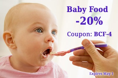 Baby Food coupon BCF-4 20% OFF