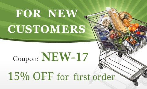 Coupon NEW17 15% OFF for new customers