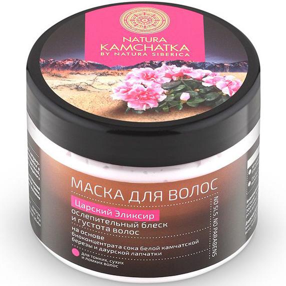 Firming Hair Mask Kings Elixir Natura Siberica Natura Kamchatka 300 ml